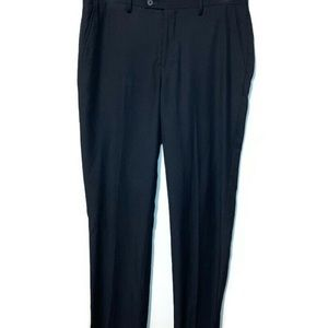 James by ico Navy Professional Dress Pants